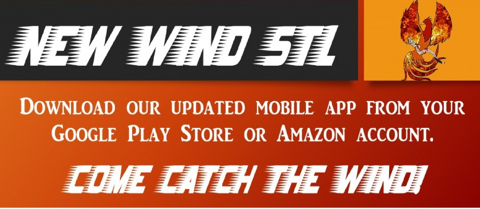 New Wind STL Mobile App Banner