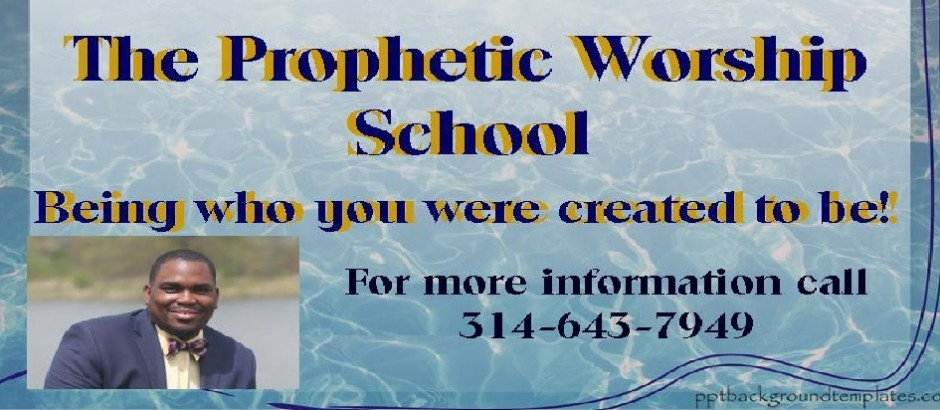 The Prophetic Worship School Banner